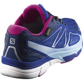 Salomon X-Scream 3D GTX Trailrunning Shoes Damen blue yonder/white/deep dalhia